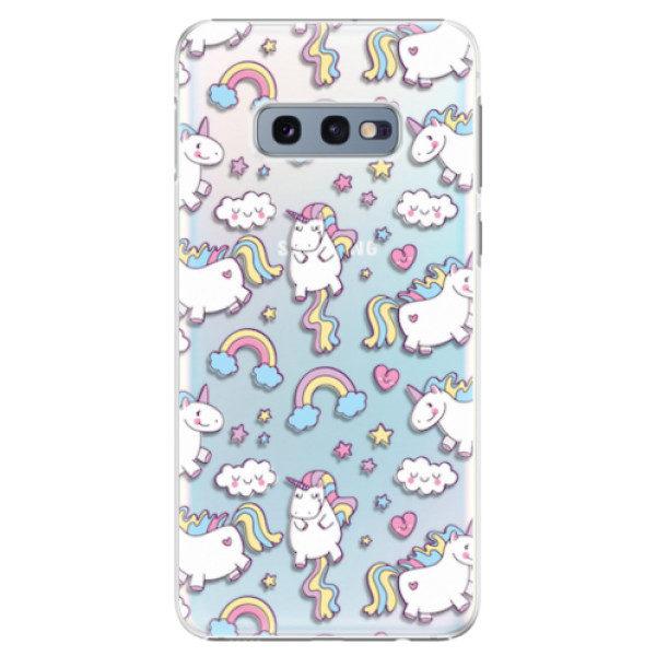 Plastové pouzdro iSaprio – Unicorn pattern 02 – Samsung Galaxy S10e Plastové pouzdro iSaprio – Unicorn pattern 02 – Samsung Galaxy S10e