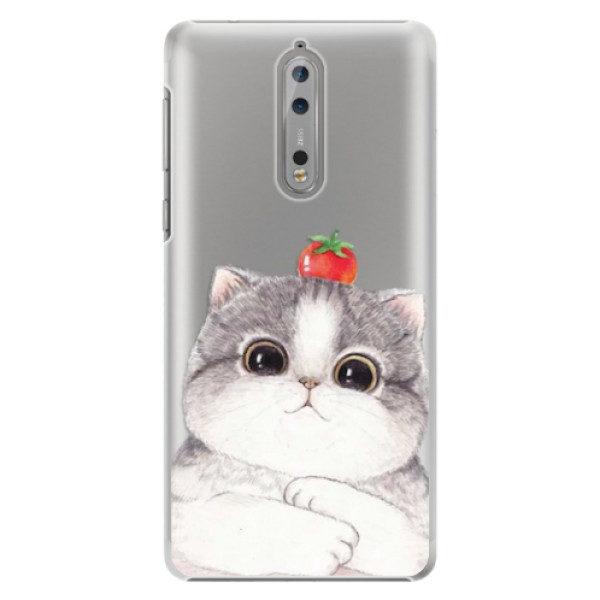Plastové pouzdro iSaprio – Cat 03 – Nokia 8 Plastové pouzdro iSaprio – Cat 03 – Nokia 8