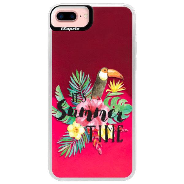 Neonové pouzdro Pink iSaprio – Summer Time – iPhone 7 Plus Neonové pouzdro Pink iSaprio – Summer Time – iPhone 7 Plus