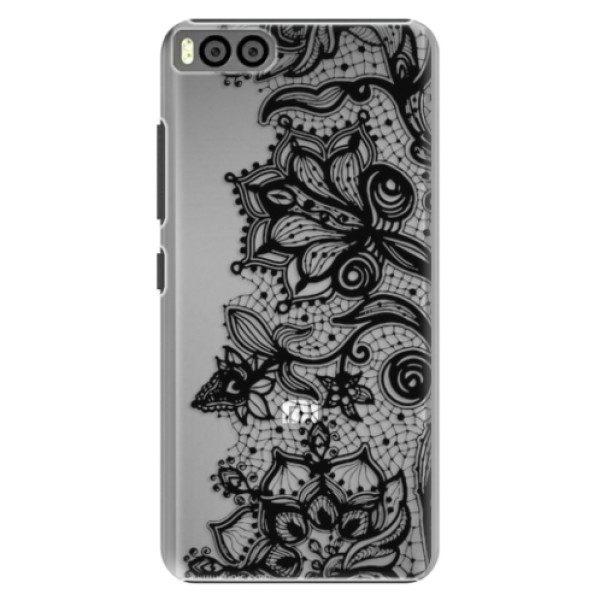 Plastové pouzdro iSaprio – Black Lace – Xiaomi Mi6 Plastové pouzdro iSaprio – Black Lace – Xiaomi Mi6