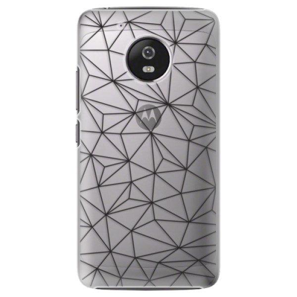 Plastové pouzdro iSaprio – Abstract Triangles 03 – black – Lenovo Moto G5 Plastové pouzdro iSaprio – Abstract Triangles 03 – black – Lenovo Moto G5