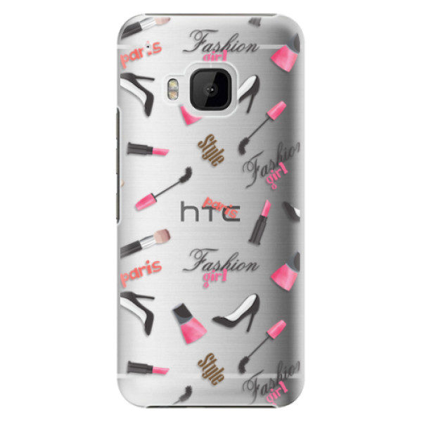 Plastové pouzdro iSaprio – Fashion pattern 01 – HTC One M9 Plastové pouzdro iSaprio – Fashion pattern 01 – HTC One M9