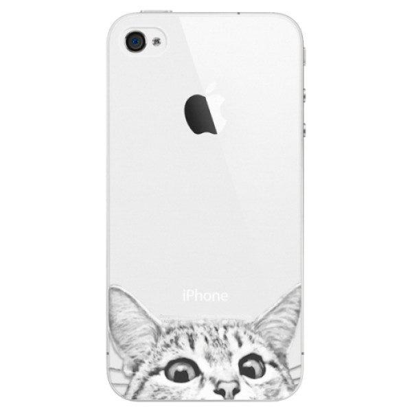 Plastové pouzdro iSaprio – Cat 02 – iPhone 4/4S Plastové pouzdro iSaprio – Cat 02 – iPhone 4/4S