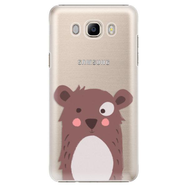 Plastové pouzdro iSaprio – Brown Bear – Samsung Galaxy J7 2016 Plastové pouzdro iSaprio – Brown Bear – Samsung Galaxy J7 2016