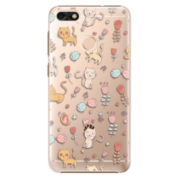 Plastové pouzdro iSaprio – Cat pattern 02 – Huawei P9 Lite Mini Plastové pouzdro iSaprio – Cat pattern 02 – Huawei P9 Lite Mini