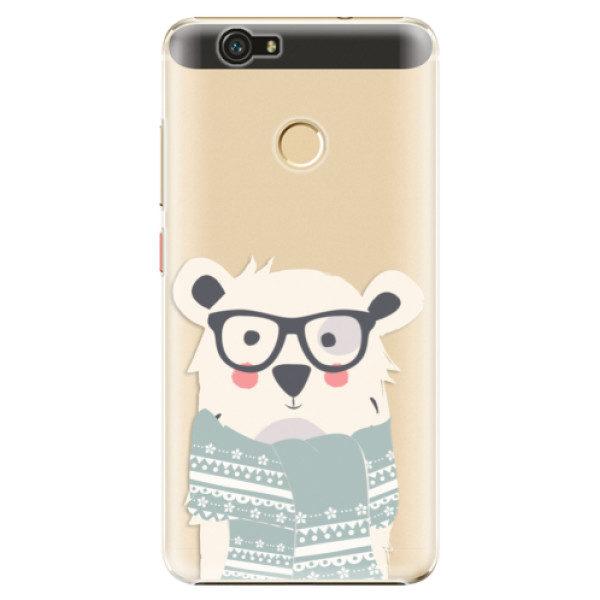 Plastové pouzdro iSaprio – Bear with Scarf – Huawei Nova Plastové pouzdro iSaprio – Bear with Scarf – Huawei Nova
