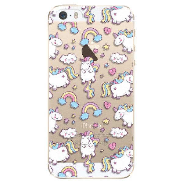 Plastové pouzdro iSaprio – Unicorn pattern 02 – iPhone 5/5S/SE Plastové pouzdro iSaprio – Unicorn pattern 02 – iPhone 5/5S/SE