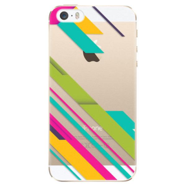Plastové pouzdro iSaprio – Color Stripes 03 – iPhone 5/5S/SE Plastové pouzdro iSaprio – Color Stripes 03 – iPhone 5/5S/SE