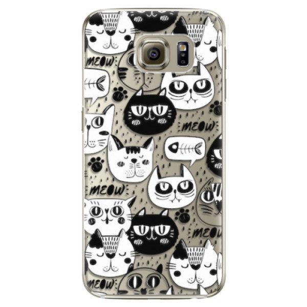 Plastové pouzdro iSaprio – Cat pattern 03 – Samsung Galaxy S6 Edge Plus Plastové pouzdro iSaprio – Cat pattern 03 – Samsung Galaxy S6 Edge Plus
