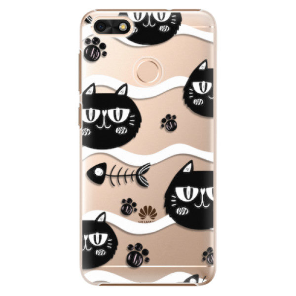 Plastové pouzdro iSaprio – Cat pattern 04 – Huawei P9 Lite Mini Plastové pouzdro iSaprio – Cat pattern 04 – Huawei P9 Lite Mini
