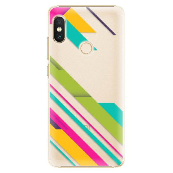 Plastové pouzdro iSaprio – Color Stripes 03 – Xiaomi Redmi Note 5 Plastové pouzdro iSaprio – Color Stripes 03 – Xiaomi Redmi Note 5