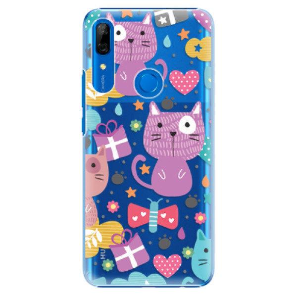 Plastové pouzdro iSaprio – Cat pattern 01 – Huawei P Smart Z Plastové pouzdro iSaprio – Cat pattern 01 – Huawei P Smart Z