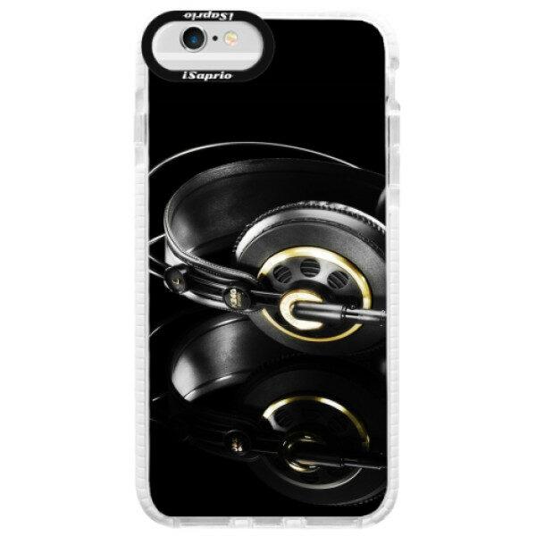 Silikonové pouzdro Bumper iSaprio – Headphones 02 – iPhone 6/6S Silikonové pouzdro Bumper iSaprio – Headphones 02 – iPhone 6/6S