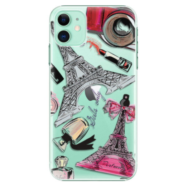 Plastové pouzdro iSaprio – Fashion pattern 02 – iPhone 11 Plastové pouzdro iSaprio – Fashion pattern 02 – iPhone 11