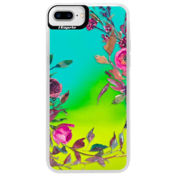 Neonové pouzdro Blue iSaprio – Herbs 01 – iPhone 7 Plus Neonové pouzdro Blue iSaprio – Herbs 01 – iPhone 7 Plus