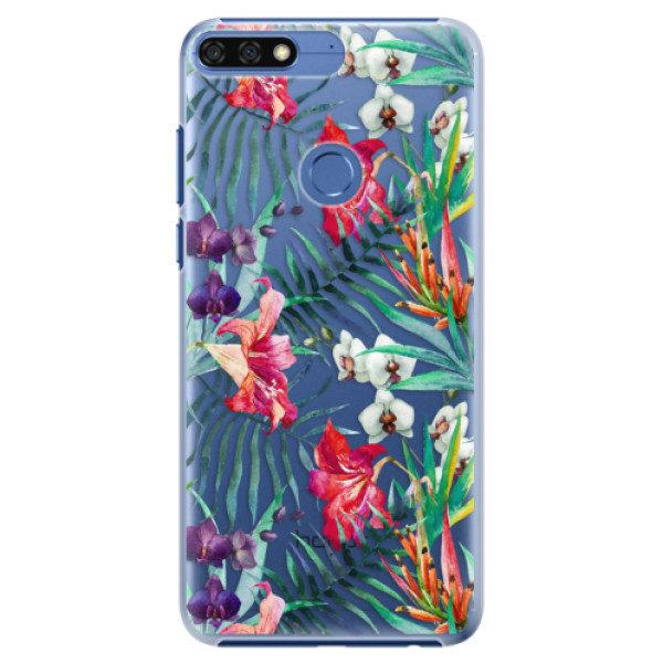 Plastové pouzdro iSaprio – Flower Pattern 03 – Huawei Honor 7C Plastové pouzdro iSaprio – Flower Pattern 03 – Huawei Honor 7C