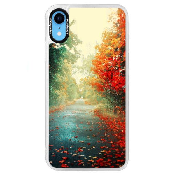 Neonové pouzdro Blue iSaprio – Autumn 03 – iPhone XR Neonové pouzdro Blue iSaprio – Autumn 03 – iPhone XR
