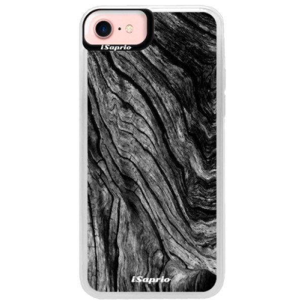 Neonové pouzdro Pink iSaprio – Burned Wood – iPhone 7 Neonové pouzdro Pink iSaprio – Burned Wood – iPhone 7