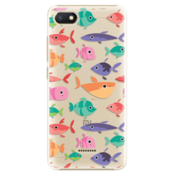 Plastové pouzdro iSaprio – Fish pattern 01 – Xiaomi Redmi 6A Plastové pouzdro iSaprio – Fish pattern 01 – Xiaomi Redmi 6A