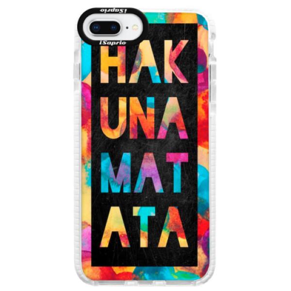 Silikonové pouzdro Bumper iSaprio – Hakuna Matata 01 – iPhone 8 Plus Silikonové pouzdro Bumper iSaprio – Hakuna Matata 01 – iPhone 8 Plus