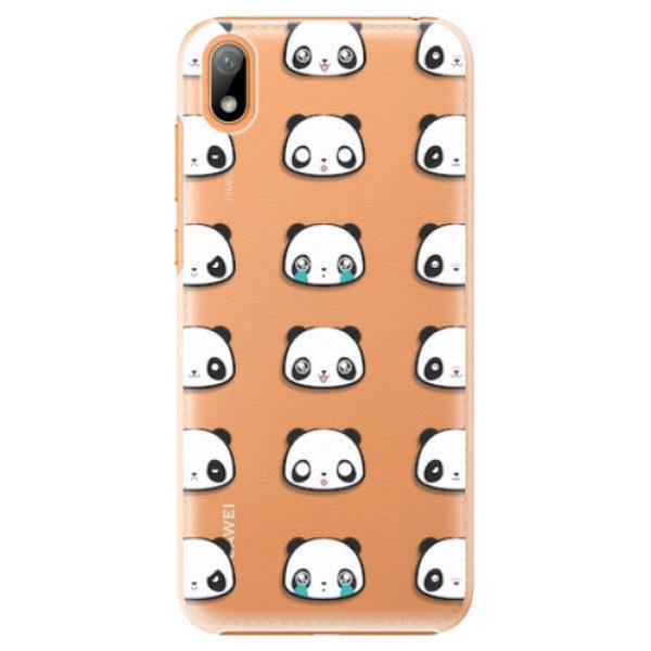 Plastové pouzdro iSaprio – Panda pattern 01 – Huawei Y5 2019 Plastové pouzdro iSaprio – Panda pattern 01 – Huawei Y5 2019