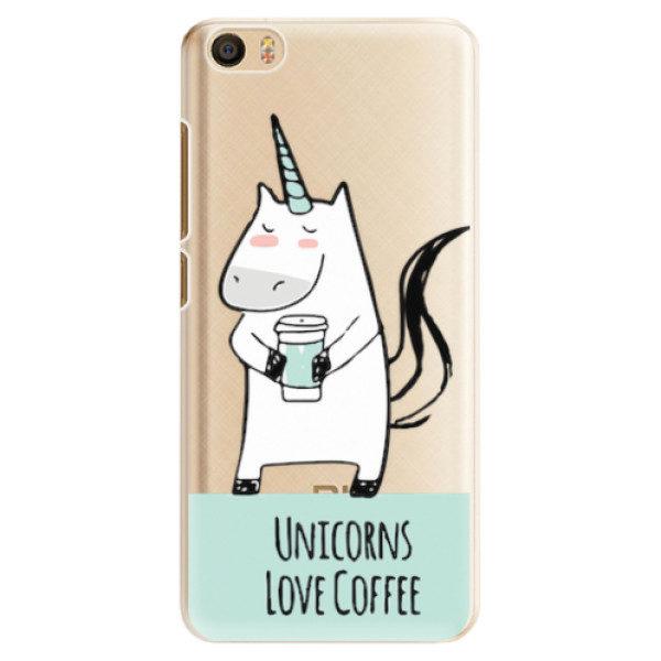 Plastové pouzdro iSaprio – Unicorns Love Coffee – Xiaomi Mi5 Plastové pouzdro iSaprio – Unicorns Love Coffee – Xiaomi Mi5