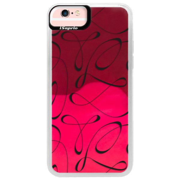 Neonové pouzdro Pink iSaprio – Fancy – black – iPhone 6/6S Neonové pouzdro Pink iSaprio – Fancy – black – iPhone 6/6S