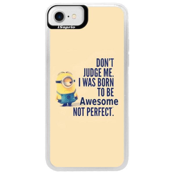 Neonové pouzdro Blue iSaprio – Be Awesome – iPhone 7 Neonové pouzdro Blue iSaprio – Be Awesome – iPhone 7