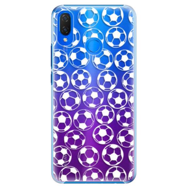 Plastové pouzdro iSaprio – Football pattern – white – Huawei Nova 3i Plastové pouzdro iSaprio – Football pattern – white – Huawei Nova 3i