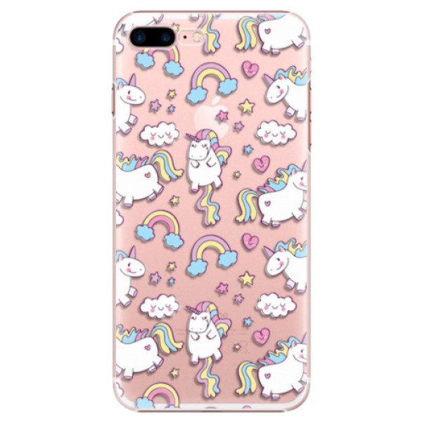 Plastové pouzdro iSaprio – Unicorn pattern 02 – iPhone 7 Plus Plastové pouzdro iSaprio – Unicorn pattern 02 – iPhone 7 Plus