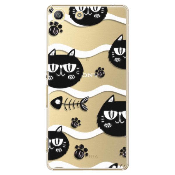 Plastové pouzdro iSaprio – Cat pattern 04 – Sony Xperia M5 Plastové pouzdro iSaprio – Cat pattern 04 – Sony Xperia M5