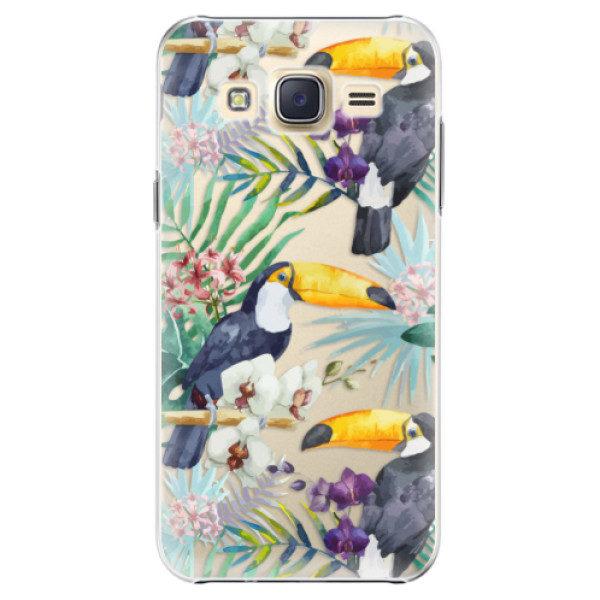 Plastové pouzdro iSaprio – Tucan Pattern 01 – Samsung Galaxy J5 Plastové pouzdro iSaprio – Tucan Pattern 01 – Samsung Galaxy J5