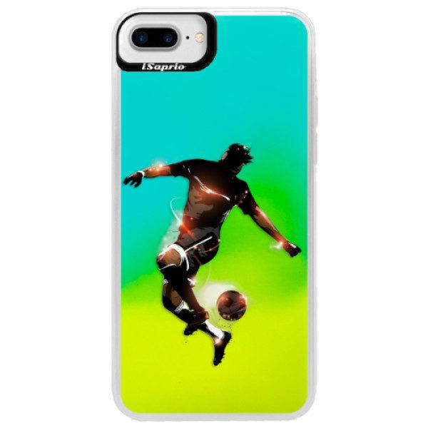 Neonové pouzdro Blue iSaprio – Fotball 01 – iPhone 7 Plus Neonové pouzdro Blue iSaprio – Fotball 01 – iPhone 7 Plus