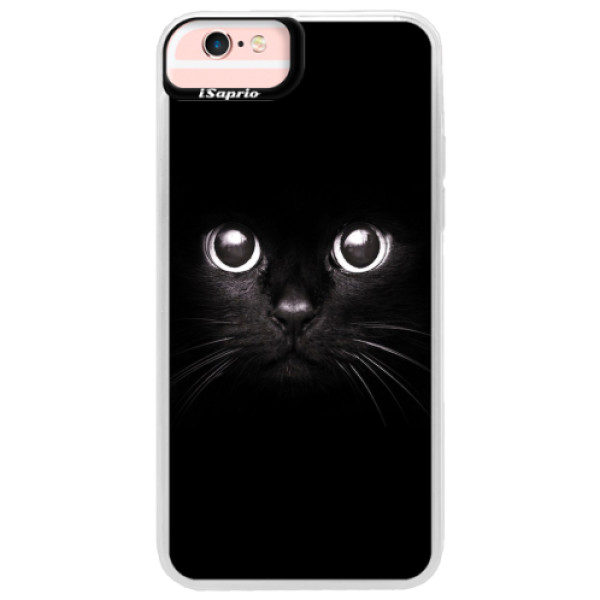 Neonové pouzdro Pink iSaprio – Black Cat – iPhone 6 Plus/6S Plus Neonové pouzdro Pink iSaprio – Black Cat – iPhone 6 Plus/6S Plus