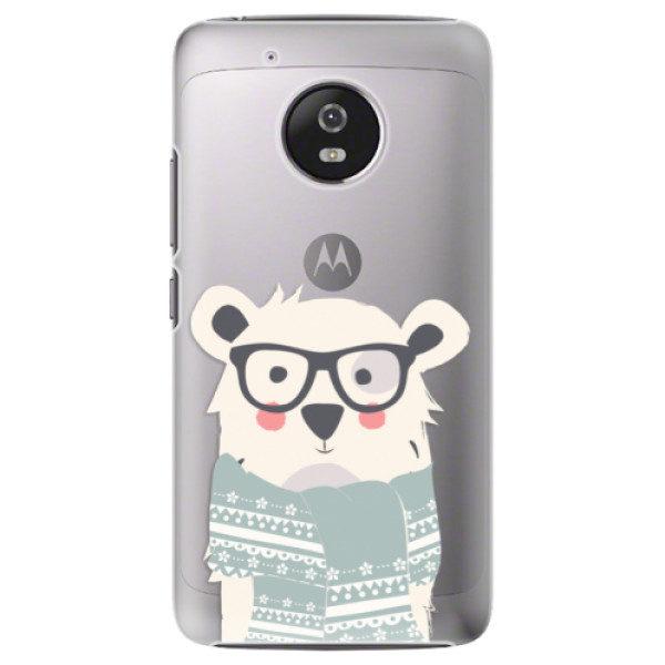 Plastové pouzdro iSaprio – Bear with Scarf – Lenovo Moto G5 Plastové pouzdro iSaprio – Bear with Scarf – Lenovo Moto G5