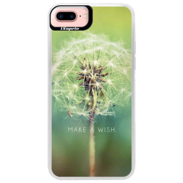 Neonové pouzdro Pink iSaprio – Wish – iPhone 7 Plus Neonové pouzdro Pink iSaprio – Wish – iPhone 7 Plus