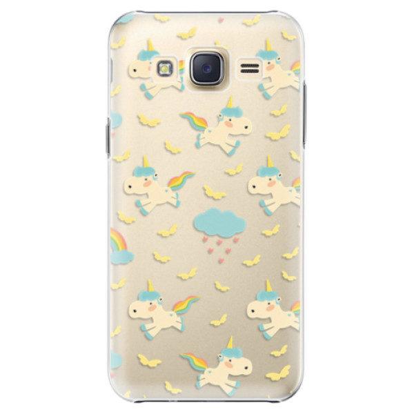 Plastové pouzdro iSaprio – Unicorn pattern 01 – Samsung Galaxy Core Prime Plastové pouzdro iSaprio – Unicorn pattern 01 – Samsung Galaxy Core Prime