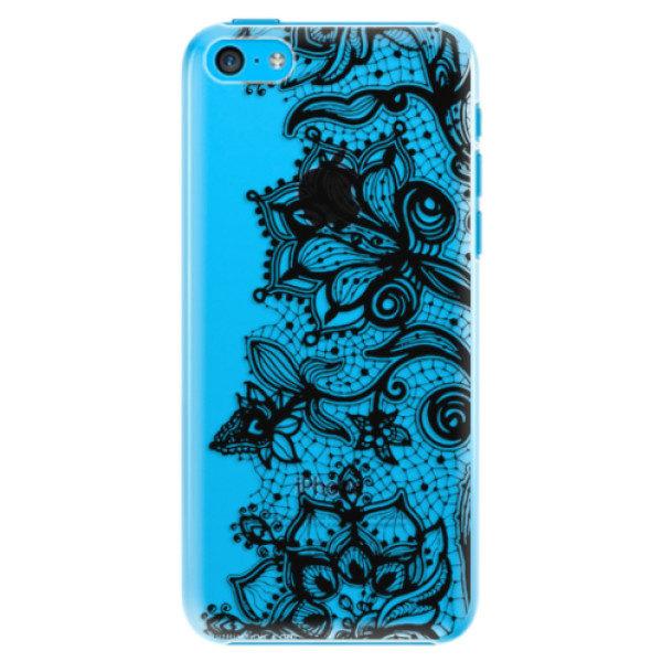 Plastové pouzdro iSaprio – Black Lace – iPhone 5C Plastové pouzdro iSaprio – Black Lace – iPhone 5C