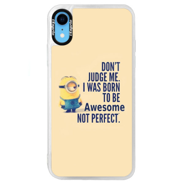 Neonové pouzdro Blue iSaprio – Be Awesome – iPhone XR Neonové pouzdro Blue iSaprio – Be Awesome – iPhone XR