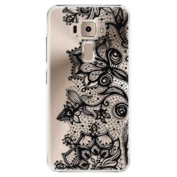 Plastové pouzdro iSaprio – Black Lace – Asus ZenFone 3 ZE520KL Plastové pouzdro iSaprio – Black Lace – Asus ZenFone 3 ZE520KL