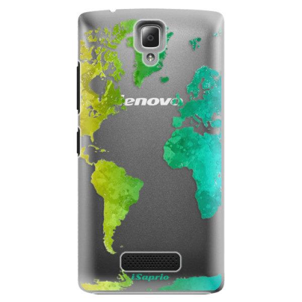 Plastové pouzdro iSaprio – Cold Map – Lenovo A2010 Plastové pouzdro iSaprio – Cold Map – Lenovo A2010