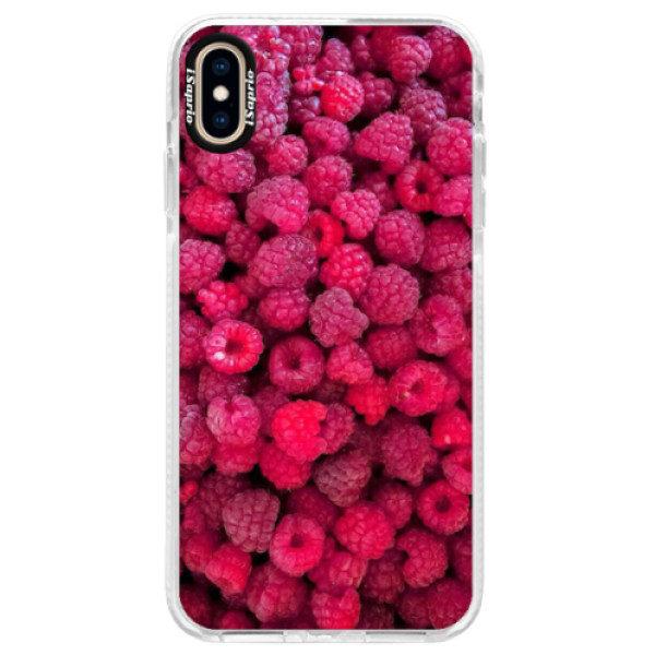 Silikonové pouzdro Bumper iSaprio – Raspberry – iPhone XS Max Silikonové pouzdro Bumper iSaprio – Raspberry – iPhone XS Max