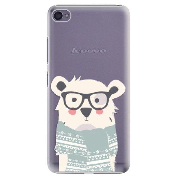 Plastové pouzdro iSaprio – Bear with Scarf – Lenovo S90 Plastové pouzdro iSaprio – Bear with Scarf – Lenovo S90