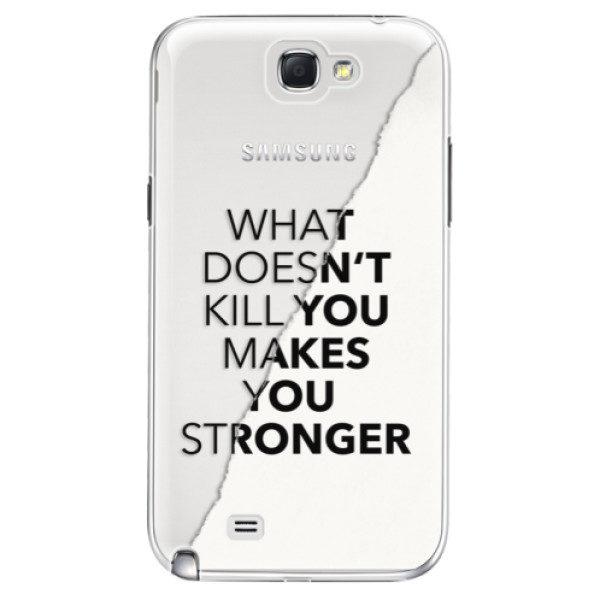 Plastové pouzdro iSaprio – Makes You Stronger – Samsung Galaxy Note 2 Plastové pouzdro iSaprio – Makes You Stronger – Samsung Galaxy Note 2