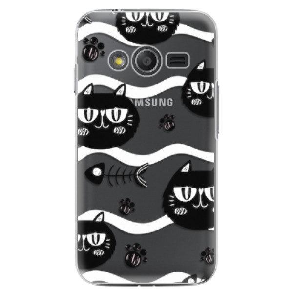 Plastové pouzdro iSaprio – Cat pattern 04 – Samsung Galaxy Trend 2 Lite Plastové pouzdro iSaprio – Cat pattern 04 – Samsung Galaxy Trend 2 Lite