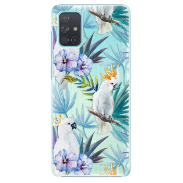 Plastové pouzdro iSaprio – Parrot Pattern 01 – Samsung Galaxy A71 Plastové pouzdro iSaprio – Parrot Pattern 01 – Samsung Galaxy A71