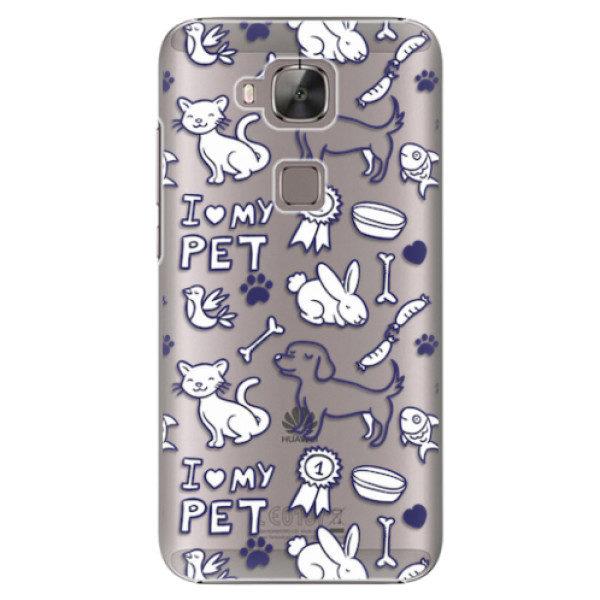 Plastové pouzdro iSaprio – Love my pets – Huawei Ascend G8 Plastové pouzdro iSaprio – Love my pets – Huawei Ascend G8