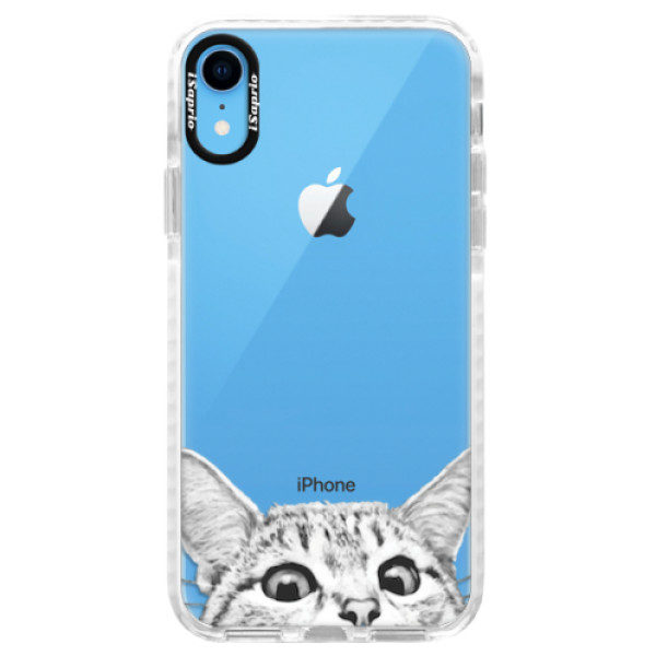Silikonové pouzdro Bumper iSaprio – Cat 02 – iPhone XR Silikonové pouzdro Bumper iSaprio – Cat 02 – iPhone XR