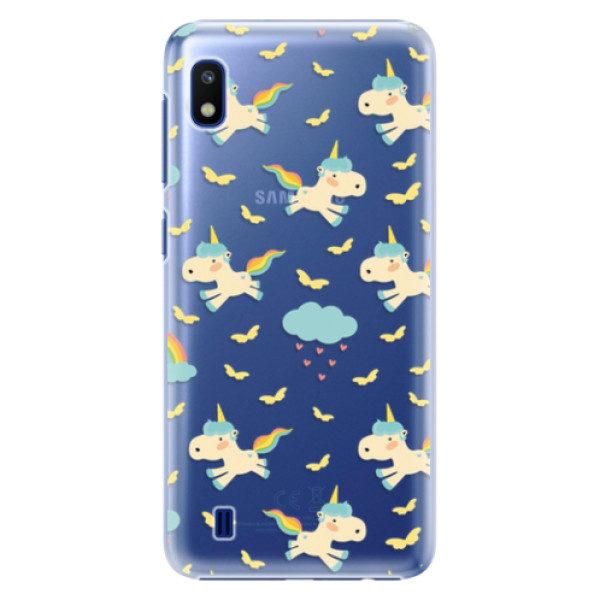 Plastové pouzdro iSaprio – Unicorn pattern 01 – Samsung Galaxy A10 Plastové pouzdro iSaprio – Unicorn pattern 01 – Samsung Galaxy A10
