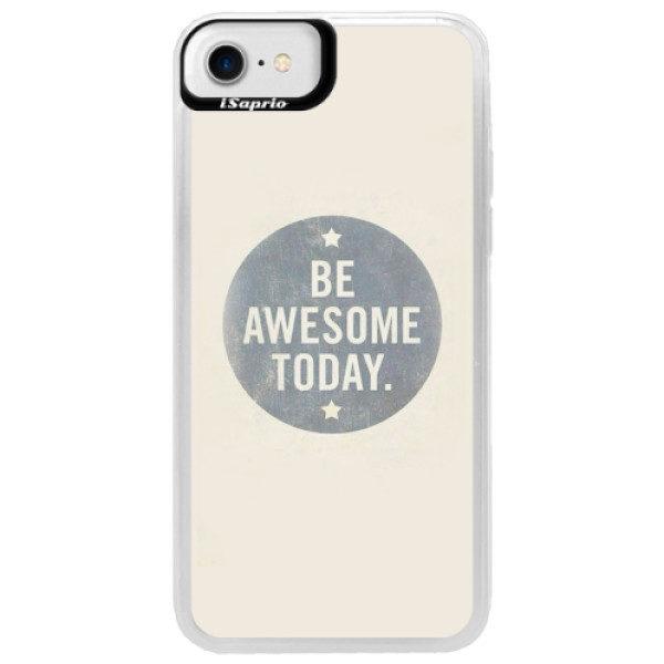 Neonové pouzdro Blue iSaprio – Awesome 02 – iPhone 7 Neonové pouzdro Blue iSaprio – Awesome 02 – iPhone 7